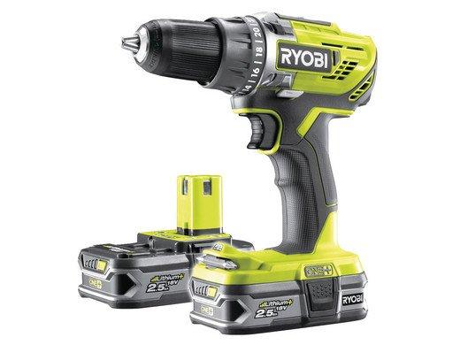 Ryobi R18DD3-225S Bohrmaschine (18 V, 2 Akkus) für 115,90€ inkl. Versand (statt 156€)