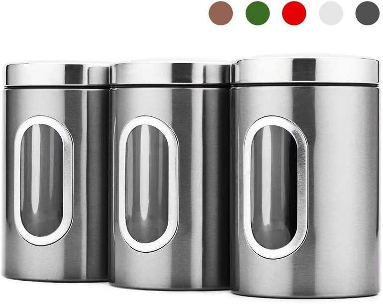 Blusea 3er Pack Vorratsdosen (1,5 Liter) für 17,59€ inkl. Prime Versand (statt 24€)