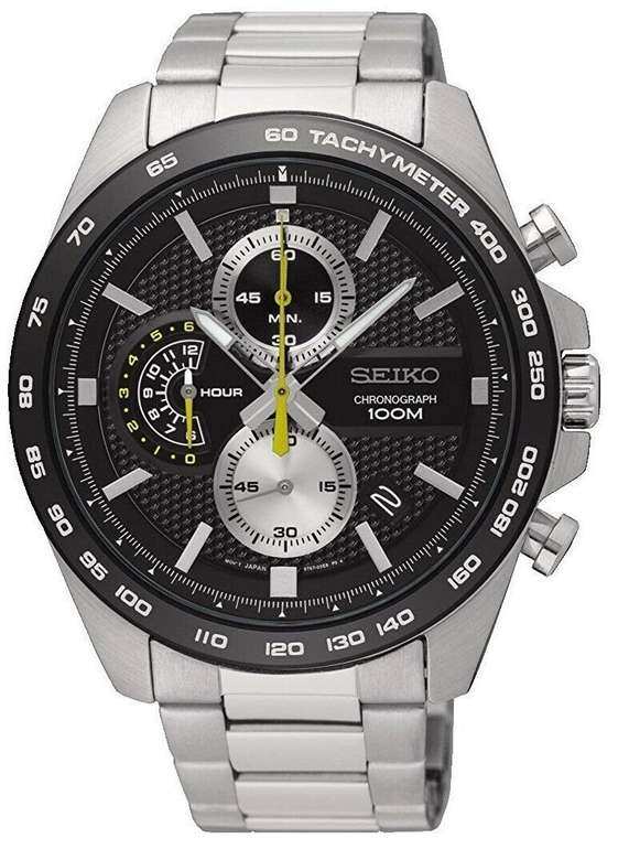Seiko Chronograph SSB261P1 - Herren-Uhr aus Edelstahl mit Metallband für 137,20€ inkl. Versand (statt 182€)