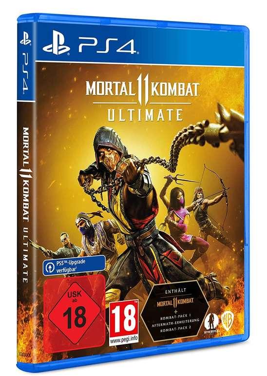 Mortal Kombat 11 Ultimate (PlayStation 4, Upgrade PlayStation 5) für 27,94€ inkl. Versand (statt 40€)