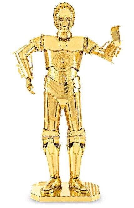 """Zoyo 3D Puzzle: Goldener Roboter """"C-3PO"""" nur 2,98€ inkl. Versand"""