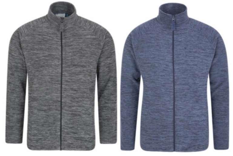 Mountain Warehouse Snowdon Herren-Fleece mit durchgehendem Reißverschluss für 17,59€