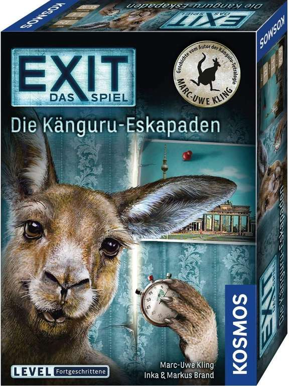 Kosmos EXIT - Die Känguru-Eskapaden (69507) für 7,99€ inkl. Versand [Prime] (statt 12€)