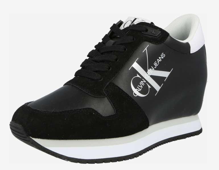 Calvin Klein Jeans Damen Sneaker in Schwarz für 44,90€inkl. Versand (statt 93€) - Größe: 39-41