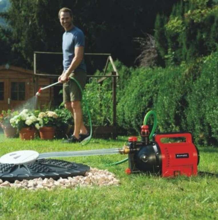 Einhell GC-GP 1045 Gartenpumpe (1050 Watt, bis zu 1400 Liter pro Stunde) für 78,95€ inkl. Versand (statt 92€)