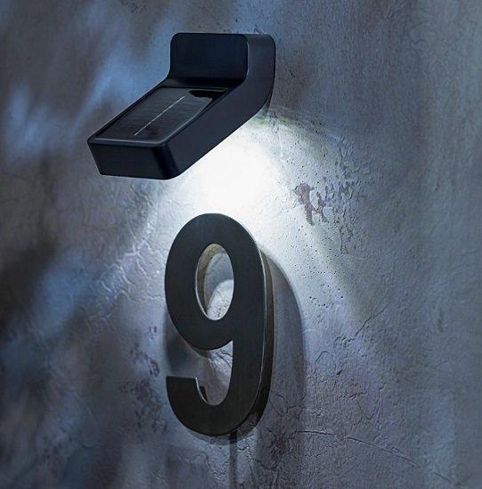 Solar-Wandlampe für den Außenbereich für 3,95€ inkl. Versand