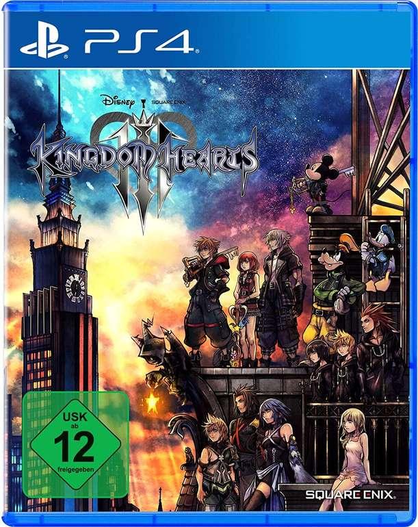 Kingdom Hearts III für PlayStation 4 für 12,99€ inkl. Primeversand (statt 21€)