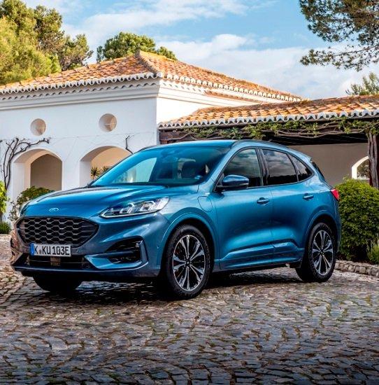 Ford Kuga PHEV ST-Line Hybrid (Elektro/Benzin) für 105,68€ mtl. Netto im Gewerbeleasing