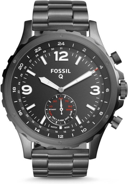 Gutscheinfehler? Fossil Q FTW1160 Herren Hybrid Smartwatch Nate für 82,88€ inkl. VSK (statt 150€)