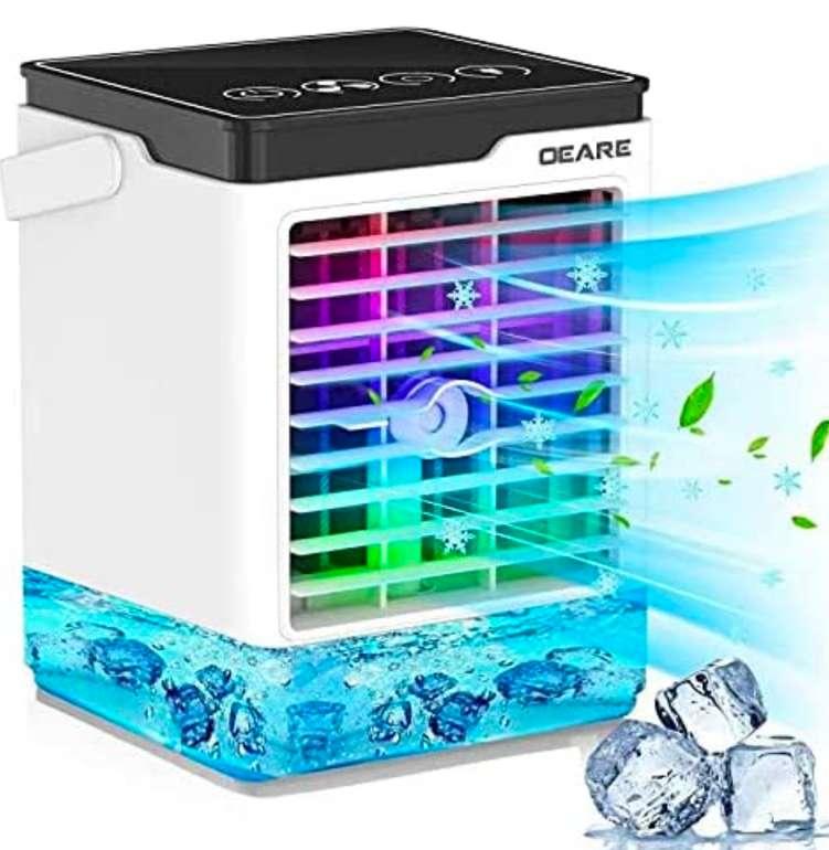OEARE Mobile Klimageräte Tragbarer Luftkühler 4-in-1-Klimagerät für 31,95€ inkl. Prime Versand (statt 46,99€)