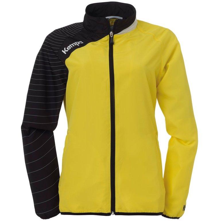 Kempa Circle Damen Handball Präsentationsjacke in gelb für 8,95€ inkl. Versand