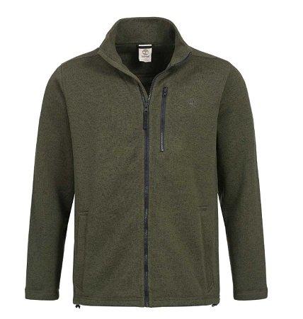 Timberland Herren Bakers River Full Zip Fleece Jacke für 29,20€ inkl. VSK