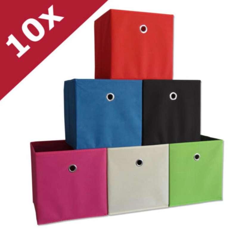 10er Set VCM Boxas Faltboxen für 16,99€ inkl. Versand (statt 24€)