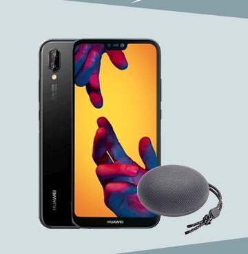 Blau o2 Allnet L mit 3GB LTE + Huawei P20 Lite + Bluetooth Box für 9,99€ mtl.