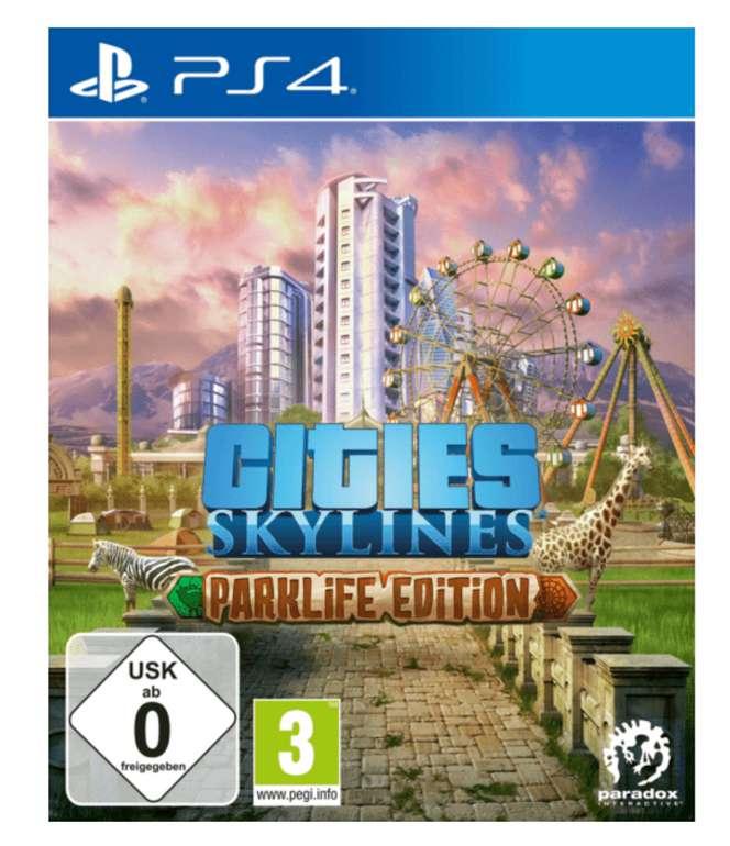Cities: Skylines - Hauptspiel und Parklife Edition für PlayStation 4 für 21,98€ inkl. Versand (statt 34€)