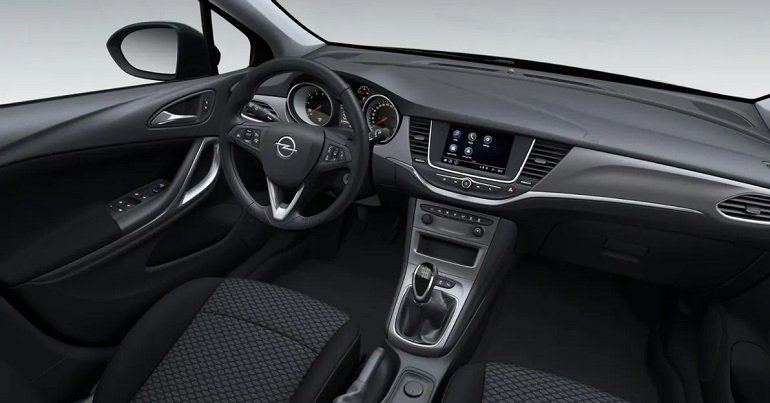 Opel Astra K Edition 1.2 Leasing