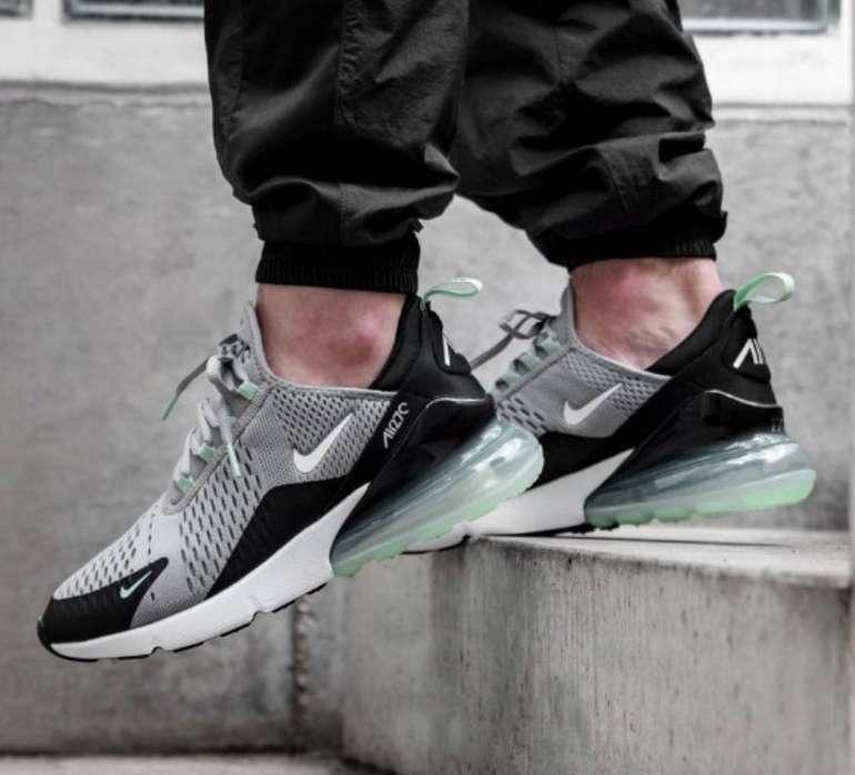 Nike Air Max 270 Herren Sneaker im Atmosphere Grey / Mint-Colourway für 114,90€