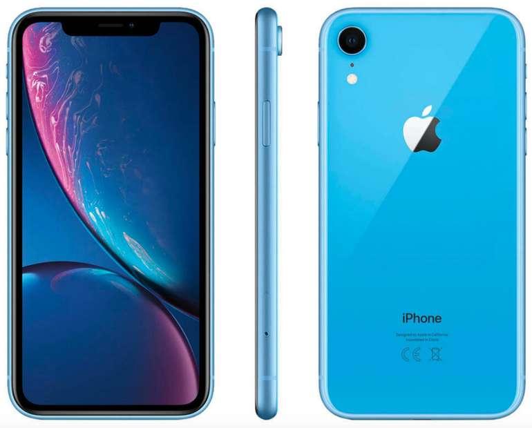 Apple iPhone XR mit 128 GB Speicher in Blau für 619,90€ (statt 715€)