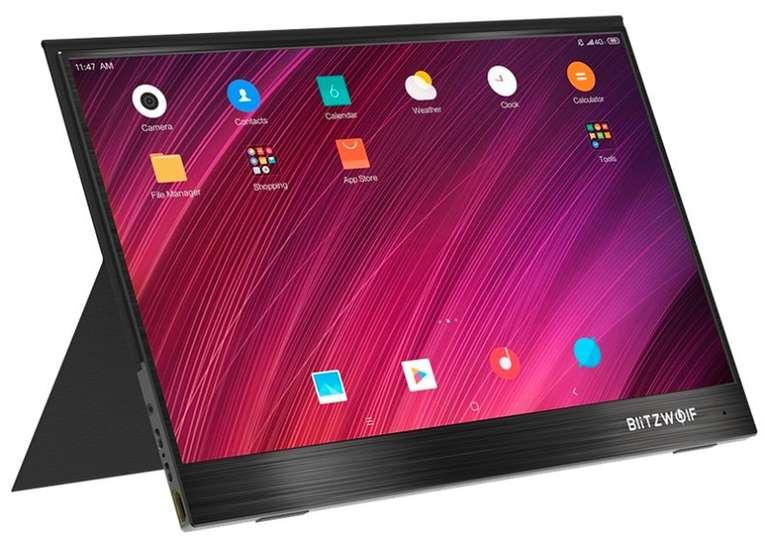 """BlitzWolf® BW-PCM3 - 15,6"""" portabler Monitor (mit Touchscreen) für 155,92€ inkl. Versand (statt 205€)"""