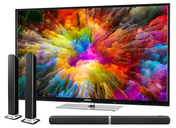 Medion X15022 – 50 Zoll UHD Fernseher + TV Soundbar E64058 für 374,95€