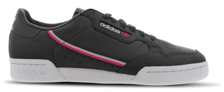 Knaller! Verschiedene Adidas Continental 80 Sneaker reduziert, z.B. Herren Sneaker für 49,99€