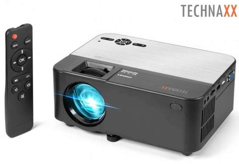 Technaxx TX-132 Mini Bluetooth LED-Beamer mit integrierten Lautsprechern für 75,90€ (statt 103€)