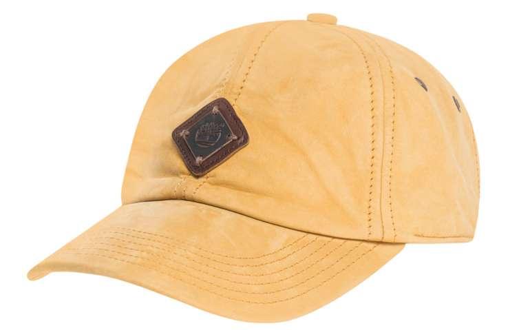 Timberland Nubuk Baseball Kappe in gelb für 15,06€ inkl. Versand (statt 27€)