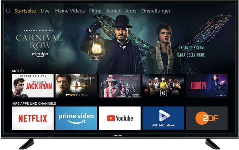 """Grundig 65GUB7062 Fire TV Edition - 65"""" LED Fernseher (4K, Smart TV) für 509,15€ inkl. Versand"""
