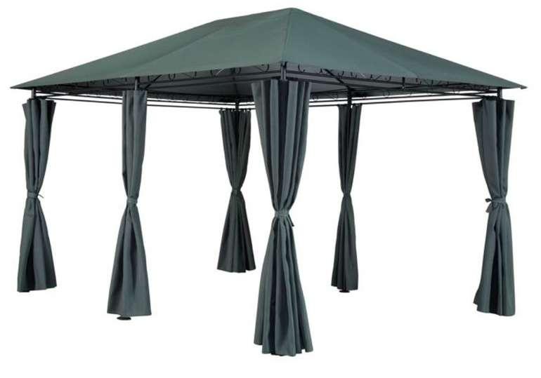 Gartenpavillon Rieke (300 x 270 x 400 cm) mit 6 Seitenteilen in anthrazit für 149,99€ bei Abholung (statt 200€)