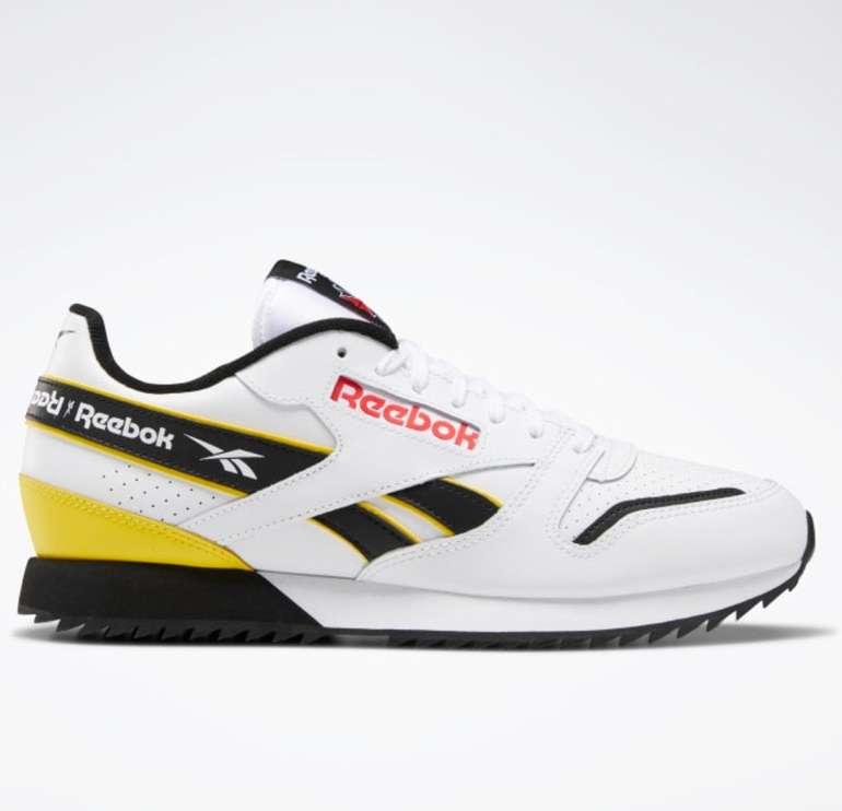 Reebok Flash Sale mit 50% + 20% Extra + VSKfrei ab 50€ - z.B. Classic Leather Ripple Sneaker für 50,38€