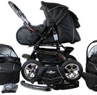 Bergsteiger Milano Kombikinderwagen mit Babyschale & Zubehör für 291,19€