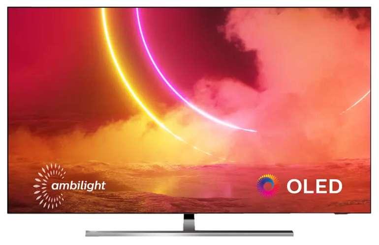 Philips 65OLED855/12 OLED TV (Flat, 65 Zoll, OLED 4) für 1.556,61€inkl. Versand (statt 1.799€)