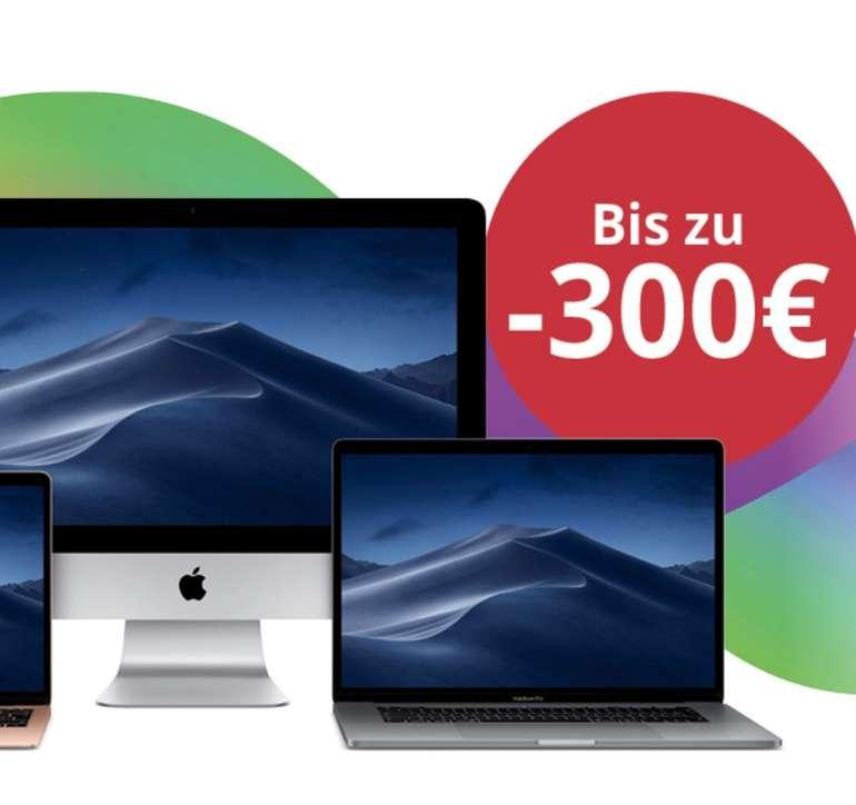 Super Spar Wochen bei MacTrade mit bis zu 300€ Rabatt auf ausgewählte Macs + 0% Finanzierung