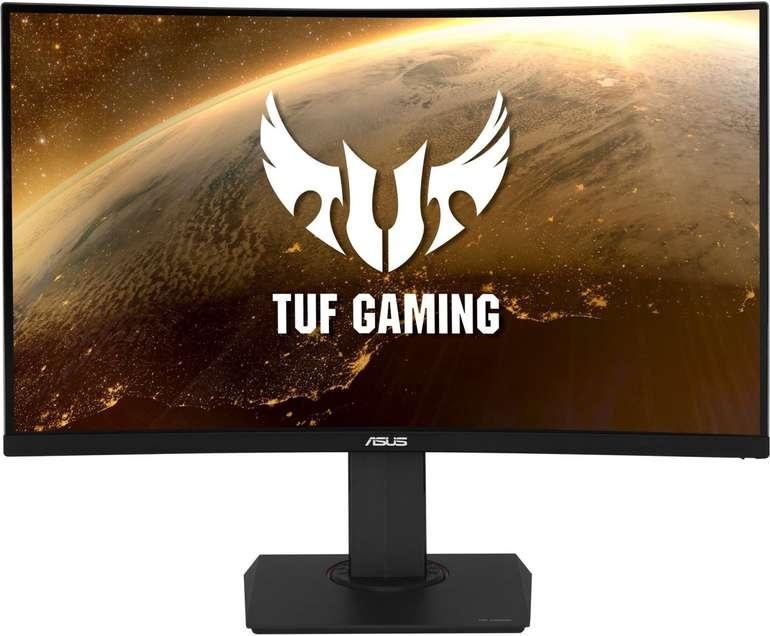 ASUS VG32VQ - 32 Zoll Gaming WQHD Curved Monitor (144 Hz, AMD FreeSync, 1ms, DisplayPort) für 371,52€