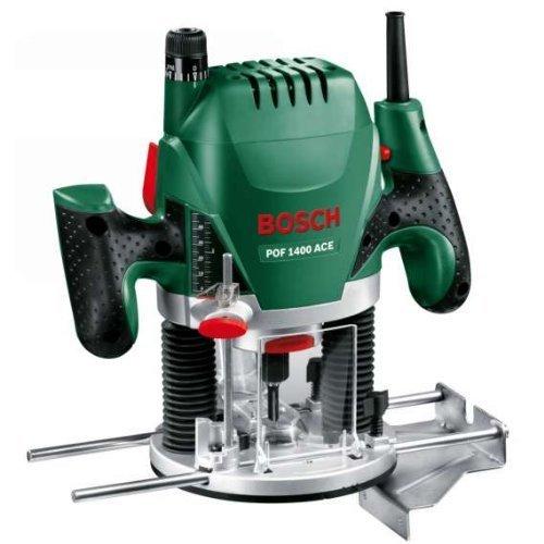Bosch POF 1400 ACE mit Nutfräser + Absaugadapter + Koffer für 93,99€ inkl. VSK (statt 112€)