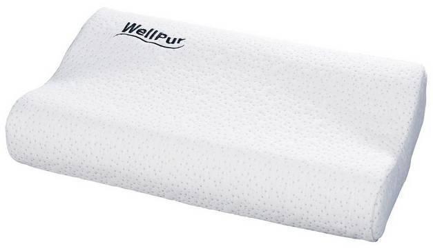 WellPur Nackenstützkissen 47x30cm für 10€ bei Abholung (+5,99€ VSK)