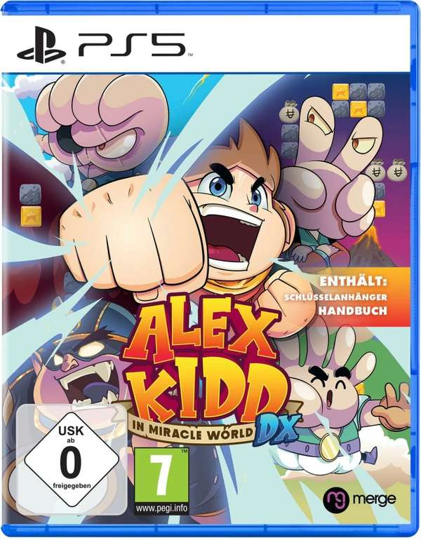 Alex Kidd in Miracle World DX (PS5/Switch) ab 22,99€ (statt 28€) - Abholung
