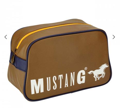 Mustang Sale mit bis zu 50% Rabatt + 25% Extra - z.B. Kulturtasche für 22,49€