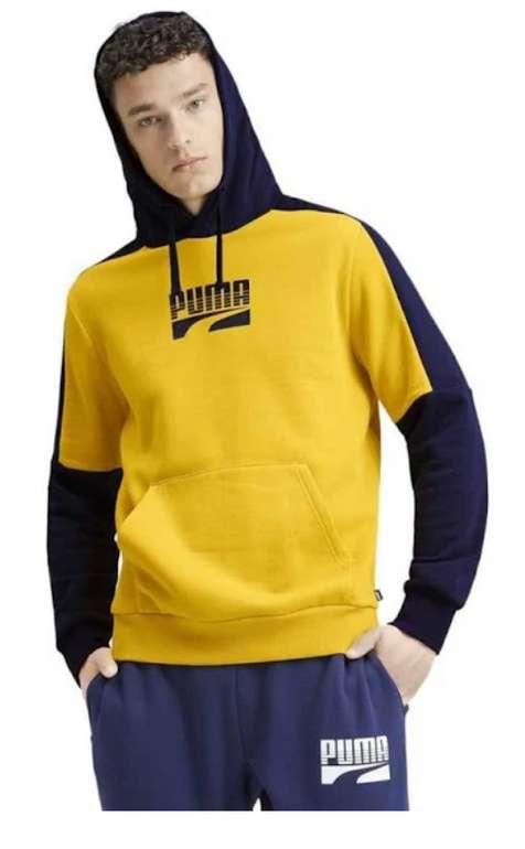 Puma Rebel Block Herren Fleece Hoodie (580544-20) für 27,94€inkl. Versand (statt 35€)