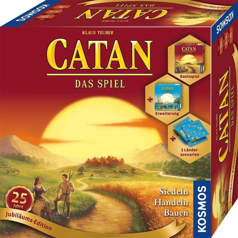 Catan -  25 Jahre Jubiläums-Edition (69521) für 34,39€ inkl. Versand (statt 40€)