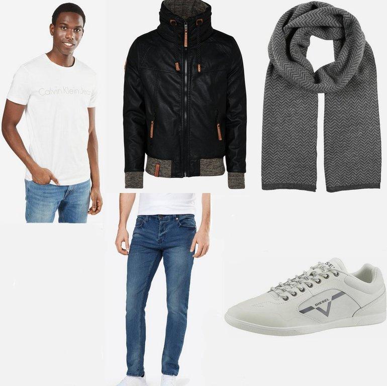Style Tipp: Komplettes Herren Alltags-Outfit (auch für kältere Tage) für 231€