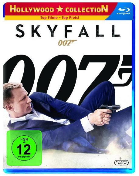 James Bond 007 - Skyfall auf Blu-ray für nur 3,67€ (Vergleich: 9€)