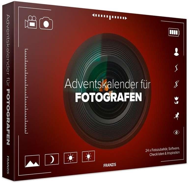 FRANZIS Adventskalender für Fotografen (24 Ideen, Zubehör & Software) für 20€ (statt 35€)