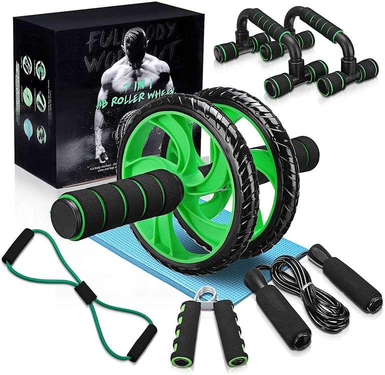 Slimerence 7-teiliges Fitness-Set für 17,39€ inkl. Prime Versand (statt 24€)