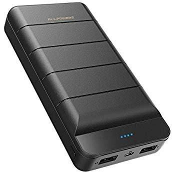 Allpowers Powerbank 25000mAh für 12,99€ inkl. Prime Versand