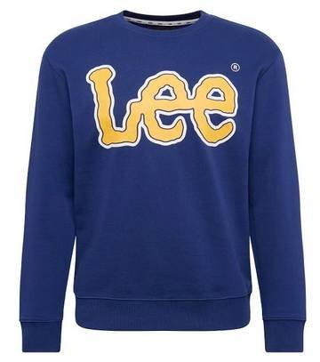 Lee Sweatshirt in blau / gelb für 25,42€ inkl. Versand (statt 38€)
