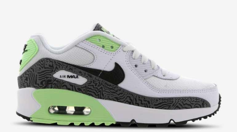Nike Air Max 90 Grundschule Schuhe in Grün für 69,99€inkl. Versand (statt 83€)