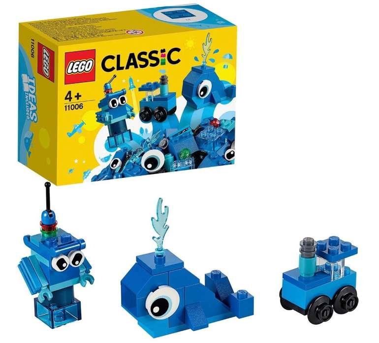 "Lego Classic ""11006"" Blaues Kreativ-Set für 3,79€ inkl. Versand (statt 7€)"