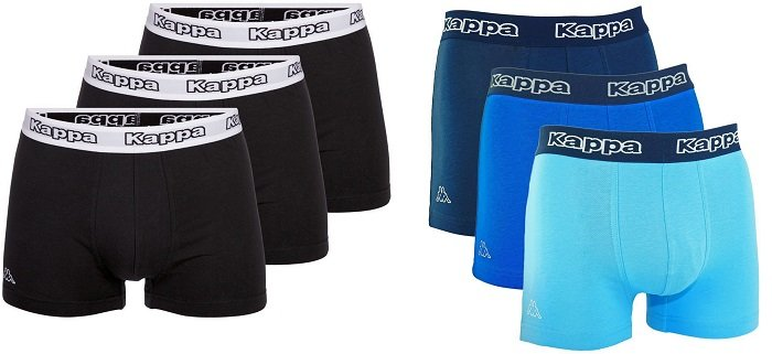 6er-Pack Kappa Boxershorts in versch. Farben (S-XL) für 24,99€ inkl. Versand