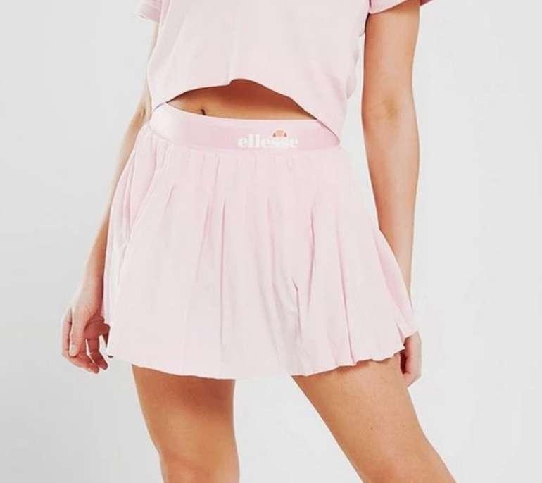 Ellesse Pleat Tennis Damen Rock in rosa für 15,99€ inkl. Versand (statt 25€)